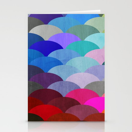 Scales Stationery Card