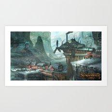 SunderFall: Galbourne Ridge Art Print