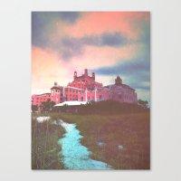 Pink Castle Canvas Print