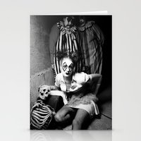 Nurse & Clowns Stationery Cards