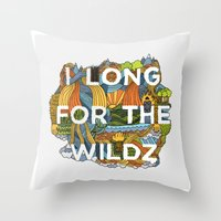 The Wildz Throw Pillow