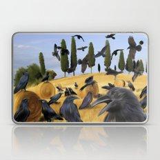 Crows in Tuscany Laptop & iPad Skin