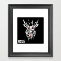 Mother Nature Deer Framed Art Print