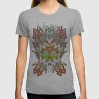 FALL FEAST! Womens Fitted Tee Athletic Grey SMALL