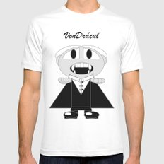 VonDrácul Mens Fitted Tee SMALL White