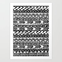 Tribal Tuesday Art Print