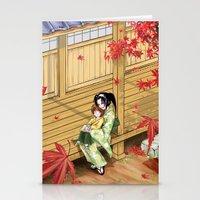 Kenshin's family Stationery Cards