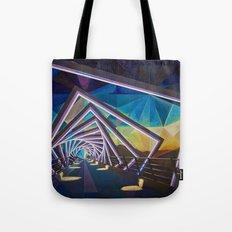 Trestle Bridge Tote Bag
