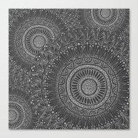 Mandala Tiled Canvas Print