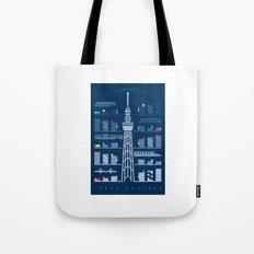 Tokyo Skytree Tote Bag