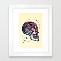 Death Mind Framed Art Print