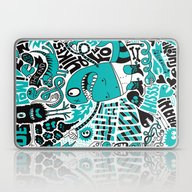 Laptop & iPad Skin featuring Foe! by Chris Piascik