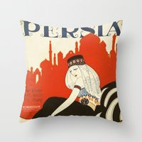 persia pillow Throw Pillow