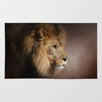 The Mighty Lion Rug