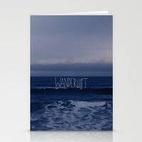 Wanderlust Ocean Stationery Cards