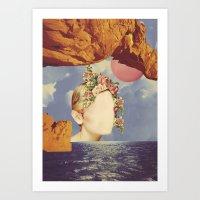 COSMIC PORTRAITS//03 Art Print