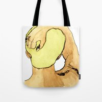Green Haired Dream Boy Tote Bag