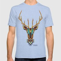 Bambi Stardust Mens Fitted Tee Athletic Blue SMALL
