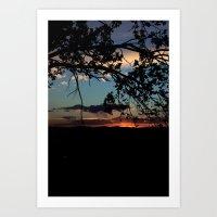 NM Sunset 6 Art Print