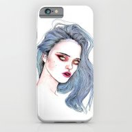 Sky Ferreira /  Blue  iPhone 6 Slim Case