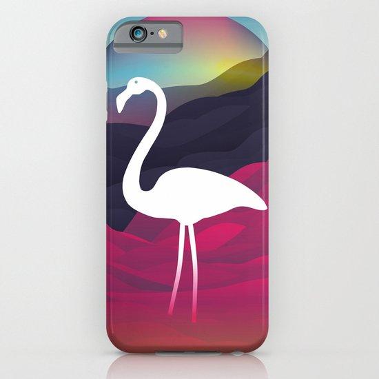 Paper Flamingo in Tibet iPhone & iPod Case