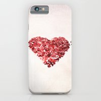 iPhone & iPod Case featuring My Confetti Heart by Isabelle Lafrance Photography