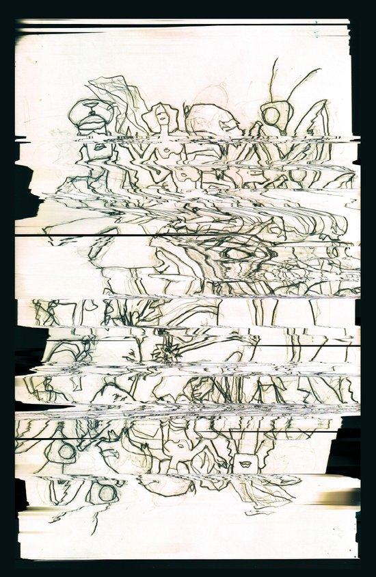 Autistic Remix #003 Art Print
