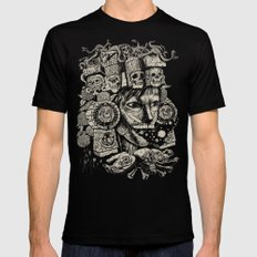 Mictecacihuatl 2 SMALL Mens Fitted Tee Black