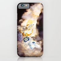 iPhone & iPod Case featuring Little Owl Boy and the Milky Way by emychaoschildren