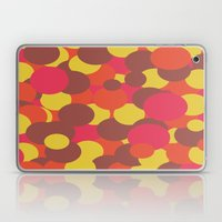 Autumn Retro Circles Design Laptop & iPad Skin