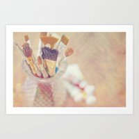 If I Could Say It In Wor… Art Print