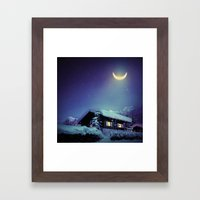 Winter Nights Framed Art Print