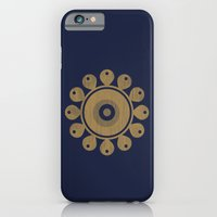 iPhone & iPod Case featuring Wooden Flower by Amdis Rain