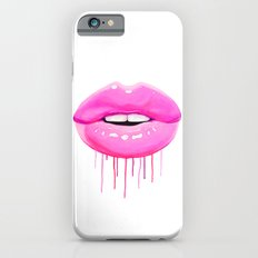Pink lips iPhone 6 Slim Case