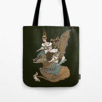 Copper Lohikäärme Tote Bag