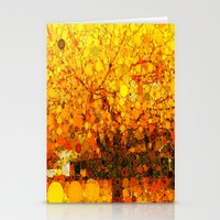 :: It Was All Yellow :: Stationery Cards