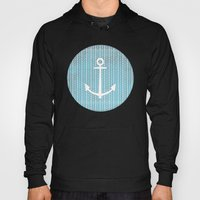 Anchor in Blue Hoody