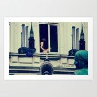 Berlin Is Calling The Li… Art Print