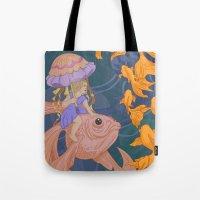 Deep Sea Stroll Tote Bag