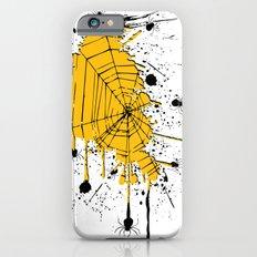 Spiderweb spiders ink splash Slim Case iPhone 6s