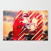 Coachella Gypsy Canvas Print