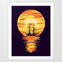 Light My Way Art Print