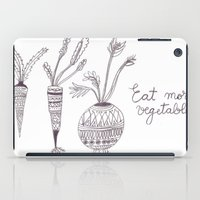 Eat More Vegetables iPad Case
