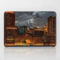 Night At Boston Harbor iPad Case