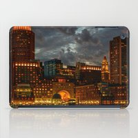 Night at Boston Harbor iPad Case