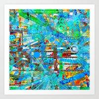 Webster (Goldberg Variations #12) Art Print