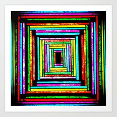 The Pattern Squared Art Print