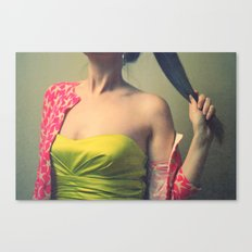 off with her head! Canvas Print