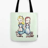 Alice & Dorothy Tote Bag