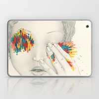 Give Me Your Eyes Laptop & iPad Skin